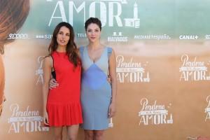 Patricia Vico y Paloma Bloyd en la presentación de Perdona si te llamo amor (2)