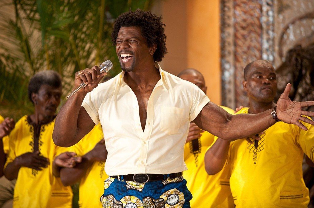 Terry Crews en Juntos y revueltos