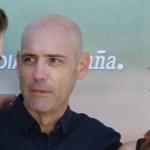 Paloma Bloyd, Joaquín Llamas, y Andrea Duro en la presentación de Perdona si te llamo amor