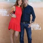 Patricia Vico y Joaquín Llamas en la presentación de Perdona si te llamo amor