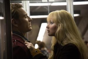 Michael Fassbender y Jennifer Lawrence en X-Men: Días del futuro pasado