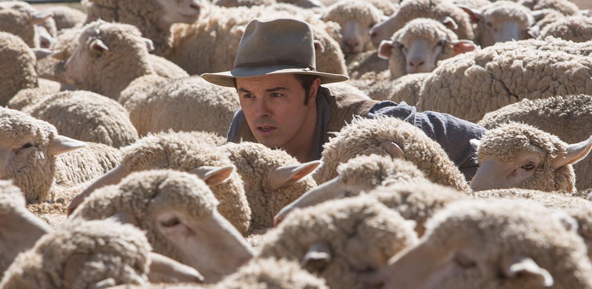 Seth MacFarlane en Mil maneras de morder el polvo