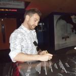 Xoel Fernández en Espectacular Premiere