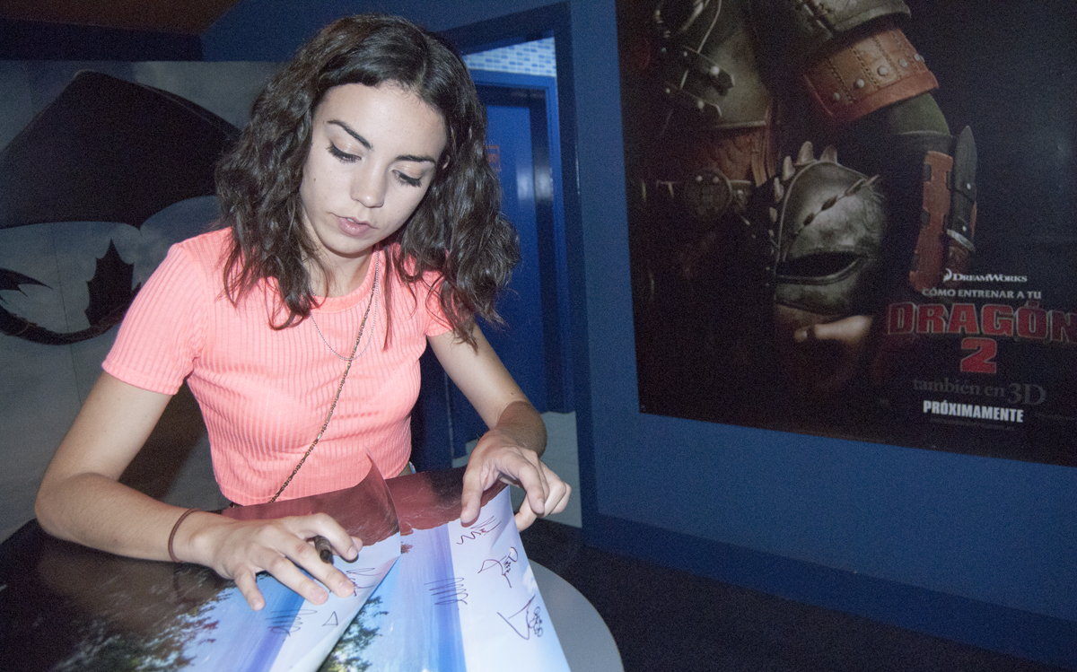 Marta Castellote en Espectacular Premiere