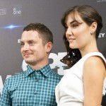 Elijah Wood y Sasha Grey en la presentación de Open Windows