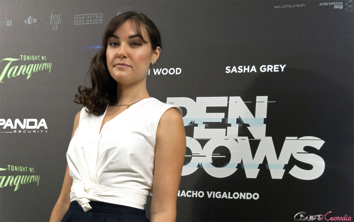 Sasha Grey en la presentación de Open Windows