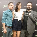 Elijah Wood, Sasha Grey, y Nacho Vigalondo en la presentación de Open Windows (2)