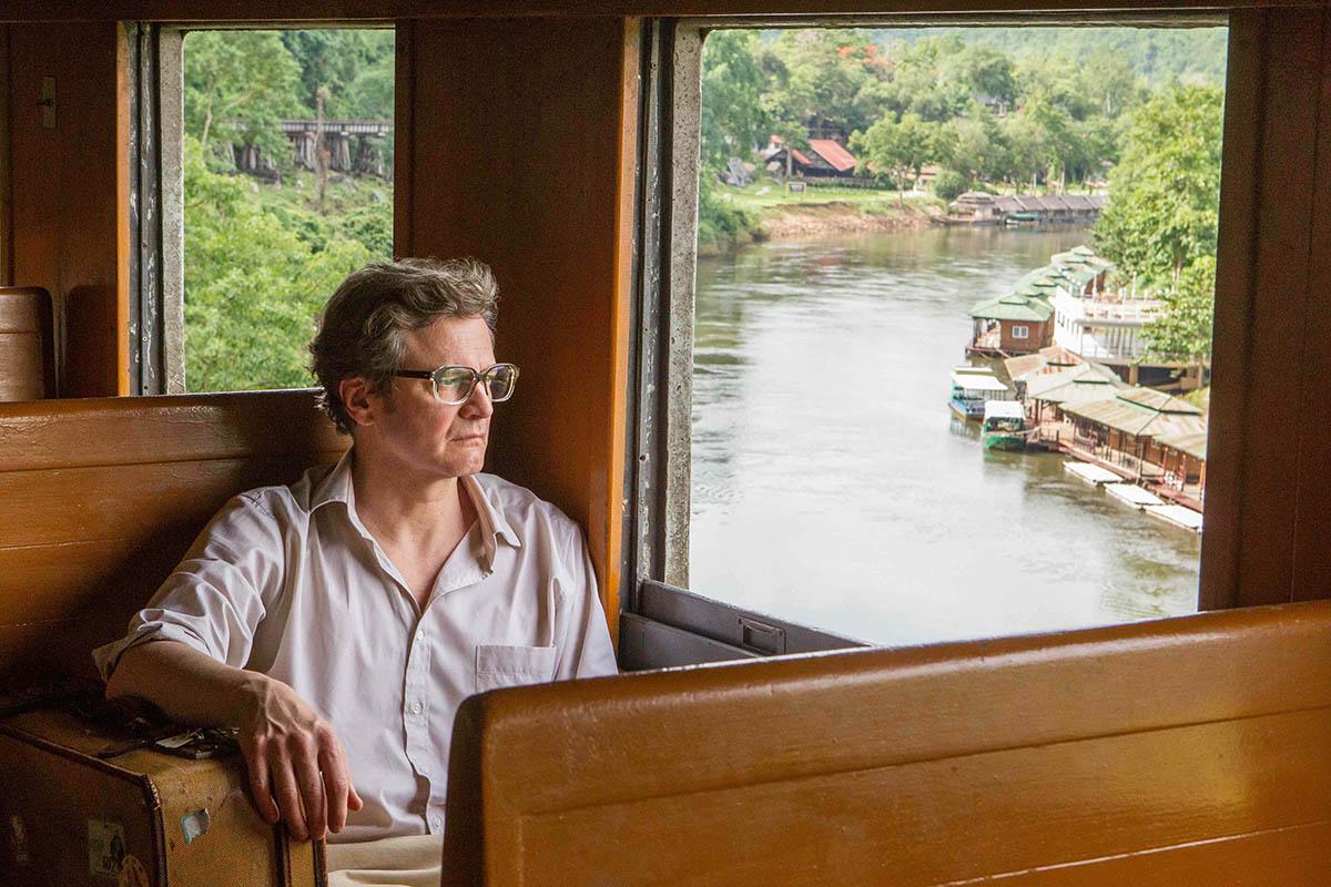 Colin Firth en Un largo viaje