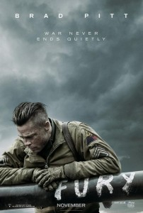 Fury - Teaser Poster USA
