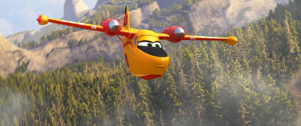 Dipper en Aviones: Equipo de rescate