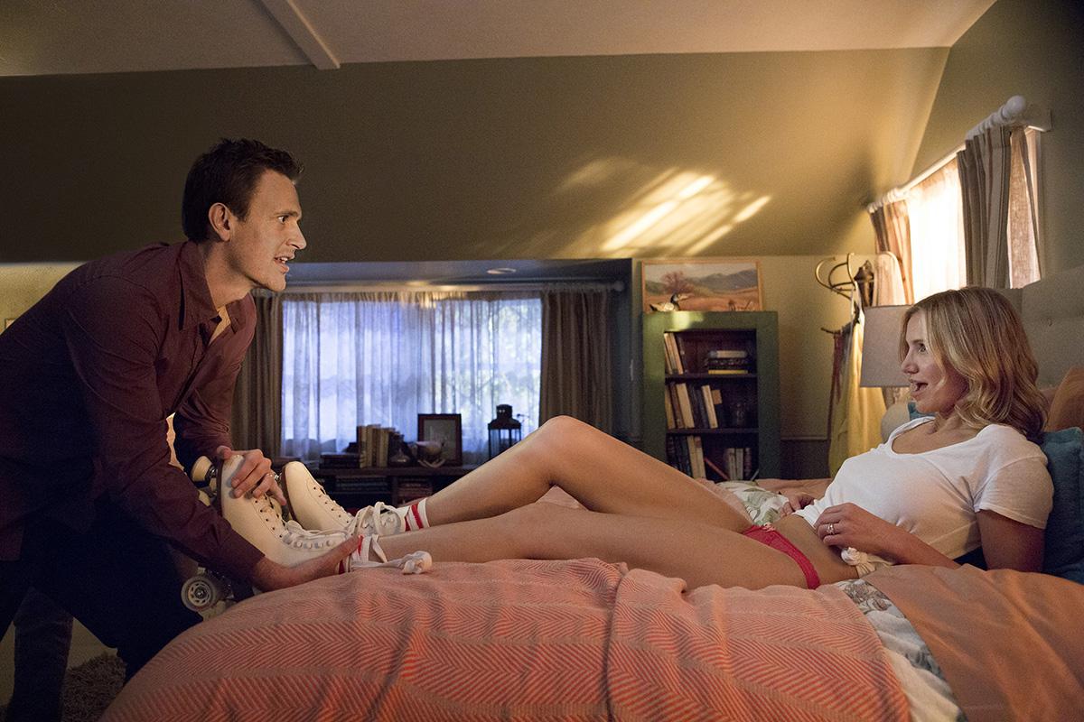 Jason Segel y Cameron Diaz en Sex tape: Algo pasa en la nube