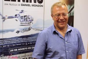 Daniel Monzón en la presentación de El Niño