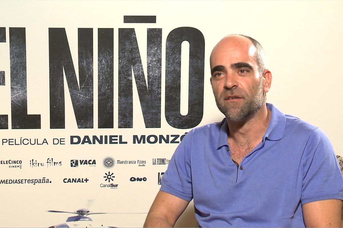 Luis Tosar en la presentación del El Niño