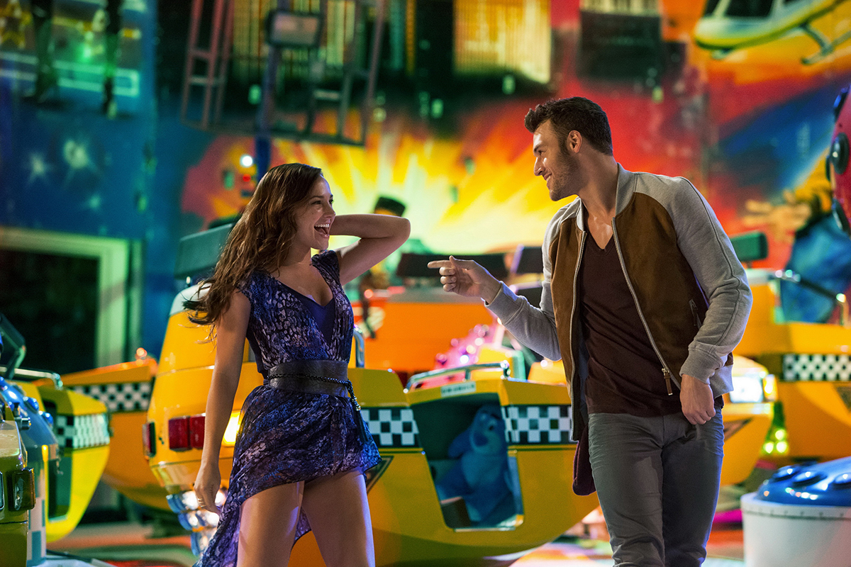 Briana Evigan y Ryan Guzman en Step Up All In