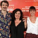Julián Villagrán, Chus Gutiérrez, e Ingrid Rubio en la presentación de Ciudad Delirio (3)