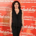 Chus Gutiérrez en la presentación de Ciudad Delirio