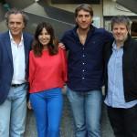 José Coronado, Mercedes Morán, Alberto Ammann, y Miguel Cohan en la presentación de Betibú (2)