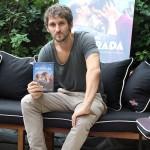 Raúl Arévalo en la presentación del DVD/Blu ray de La vida inesperada