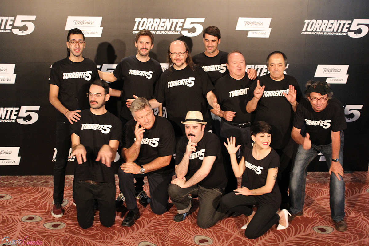 El equipo artístico de Torrente 5: Operación Eurovegas