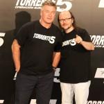Alec Baldwin y Santiago Segura en la presentación de Torrente 5: Operación Eurovegas