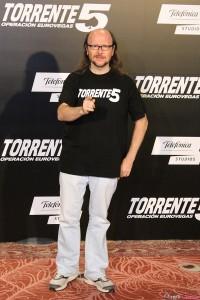 Santiago Segura en la presentación de Torrente 5: Operación Eurovegas