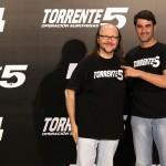 Santiago Segura y Jesús Janeiro en la presentación de Torrente 5: Operación Eurovegas