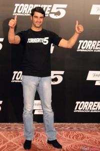 Jesús Janeiro en la presentación de Torrente 5: Operación Eurovegas