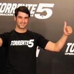 Jesús Janeiro en la presentación de Torrente 5: Operación Eurovegas (2)