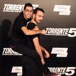 Dientes y Bigotes en la presentación de Torrente 5: Operación Eurovegas
