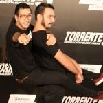 Dientes y Bigotes en la presentación de Torrente 5: Operación Eurovegas (2)