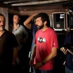 Javier Gutiérrez y Alberto Rodríguez en el rodaje de La isla mínima (2)