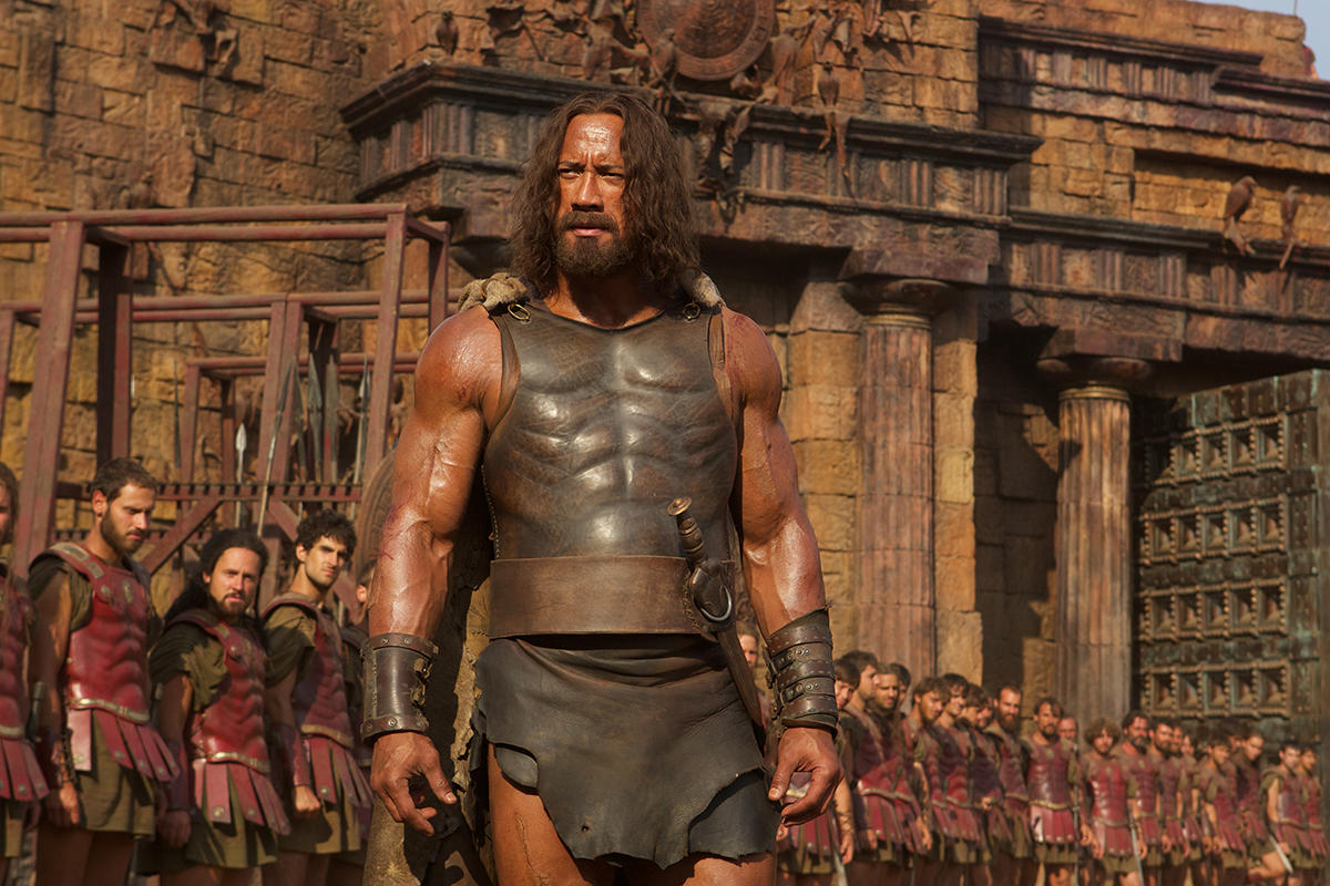 Dwayne Johnson en Hércules