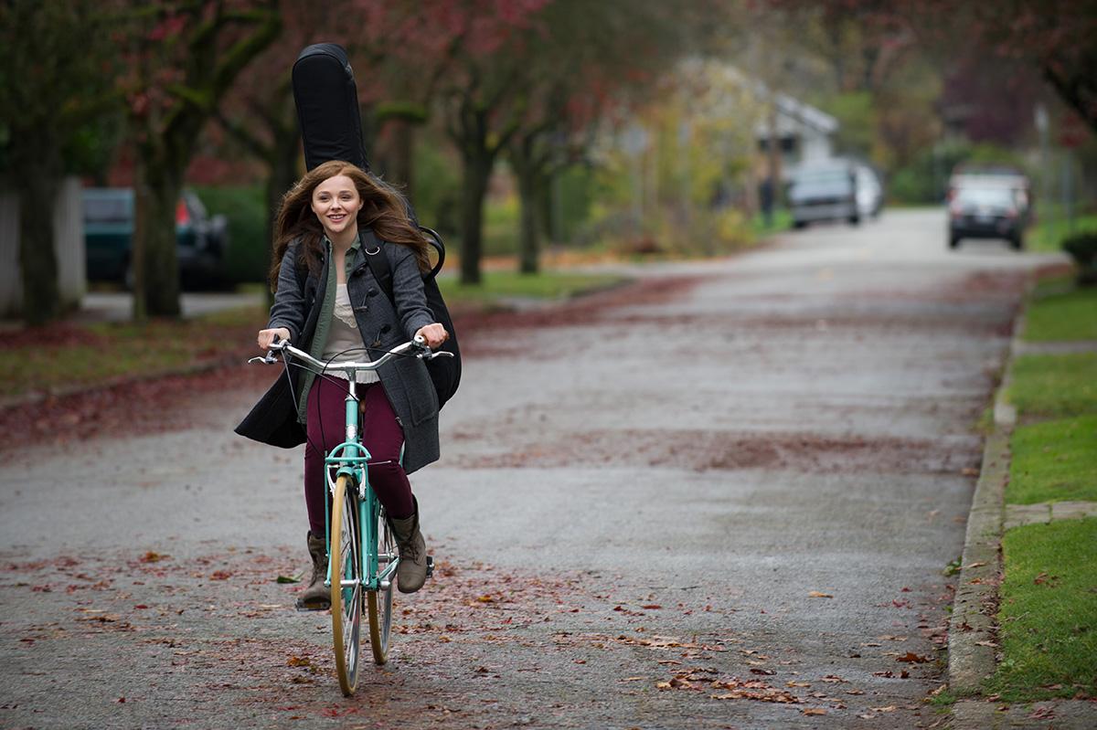 Chloë Grace Moretz en Si decido quedarme