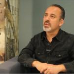 Javier Gutiérrez en la presentación de La isla mínima