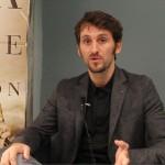 Raúl Arévalo en la presentación de La isla mínima