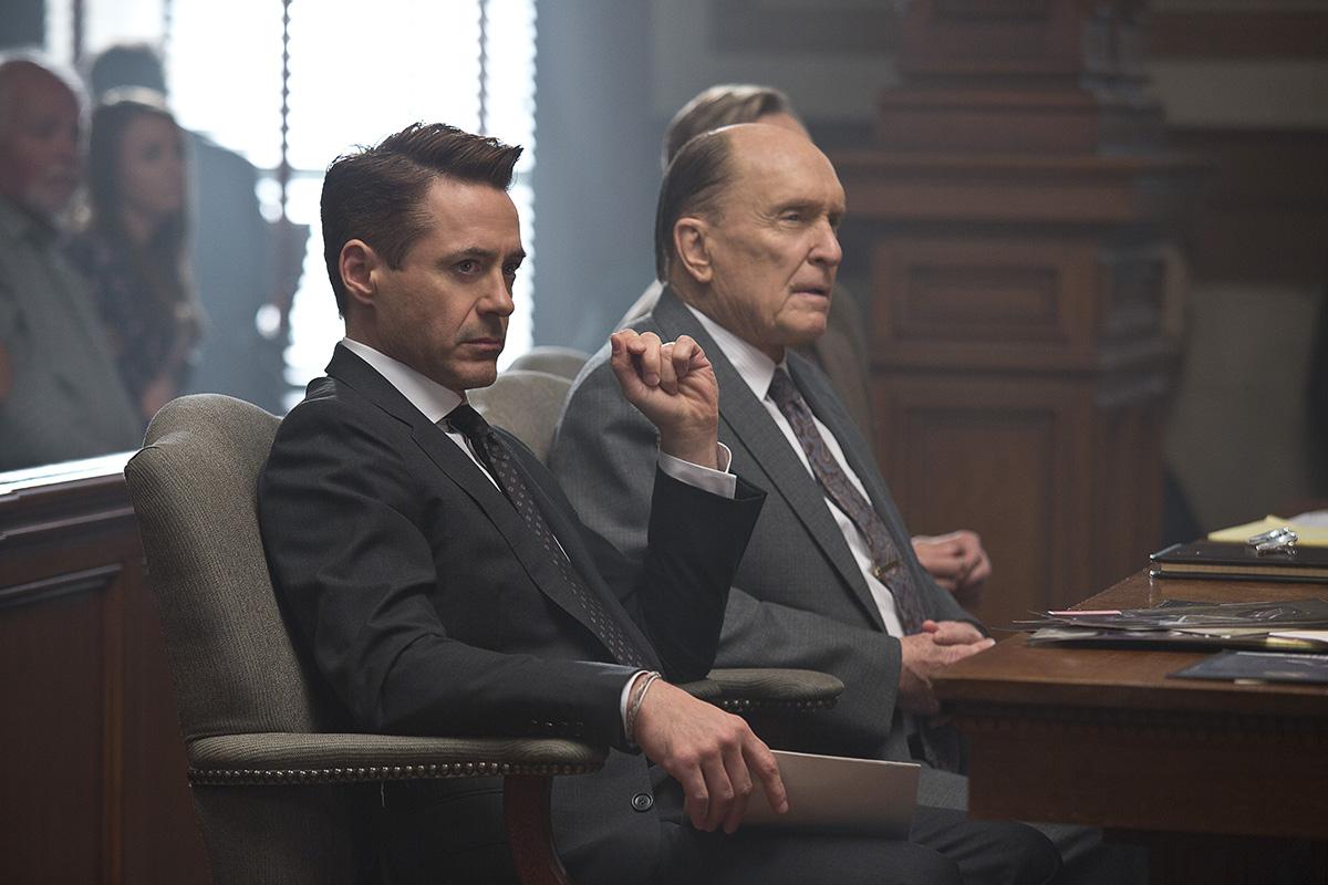 Robert Downey Jr. y Robert Duvall en El juez