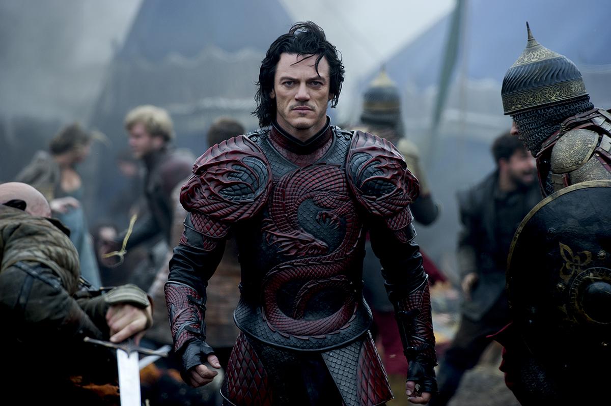 Luke Evans en Drácula: La leyenda jamás contada