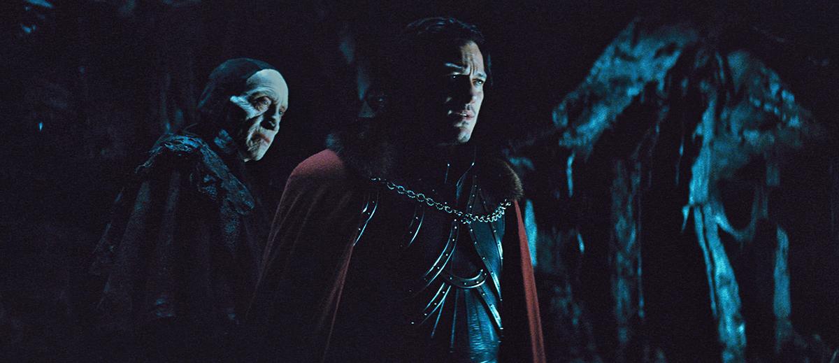 Charles Dance y Luke Evans en Drácula: La leyenda jamás contada