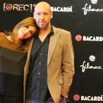 Manuela Velasco y Jaume Balagueró en la presentación de [REC] 4