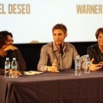 Carlos Reviriego, Damián Szifron, y Esther García en el encuentro exclusivo de Relatos salvajes (3)