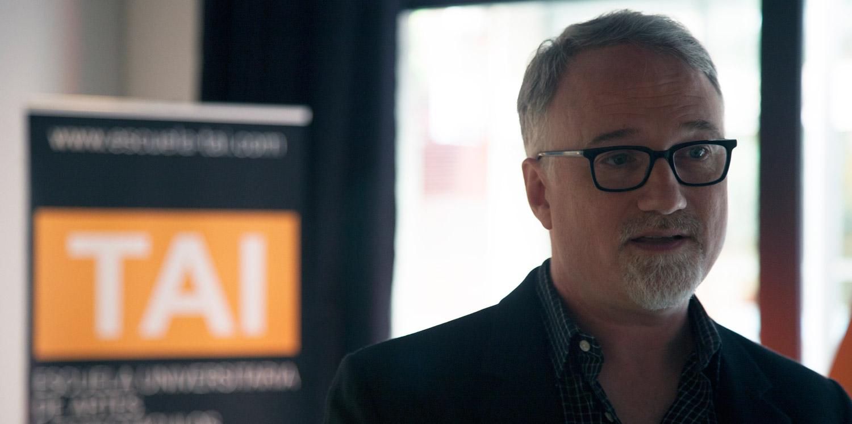 David Fincher en la masterclass