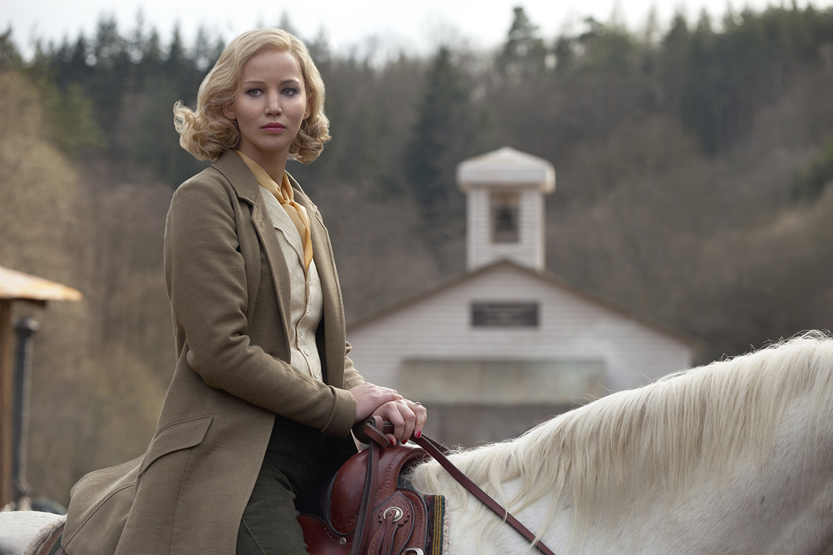 Jennifer Lawrence en Serena