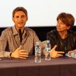 Damián Szifron y Esther García en el encuentro exclusivo de Relatos salvajes (2)