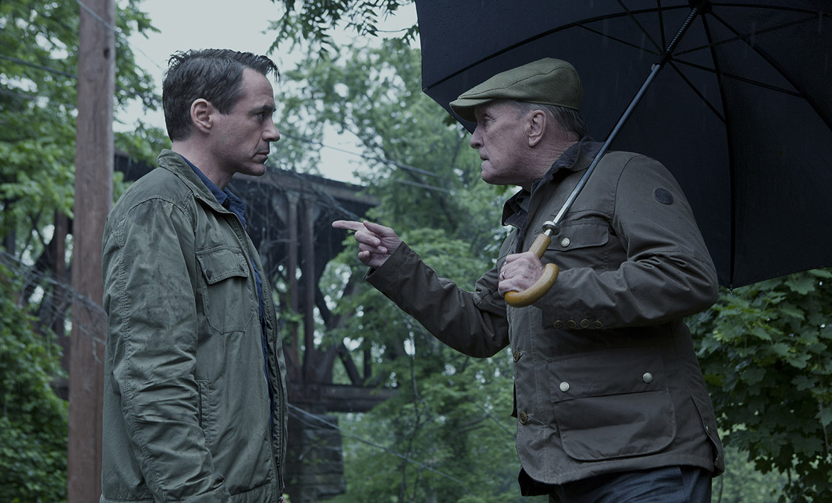Robert Downey Jr. y Robert Duvall en El juez (2)