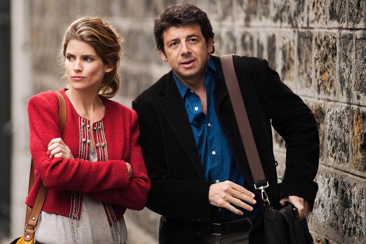 Alice Taglioni y Patrick Bruel en París-Manhattan