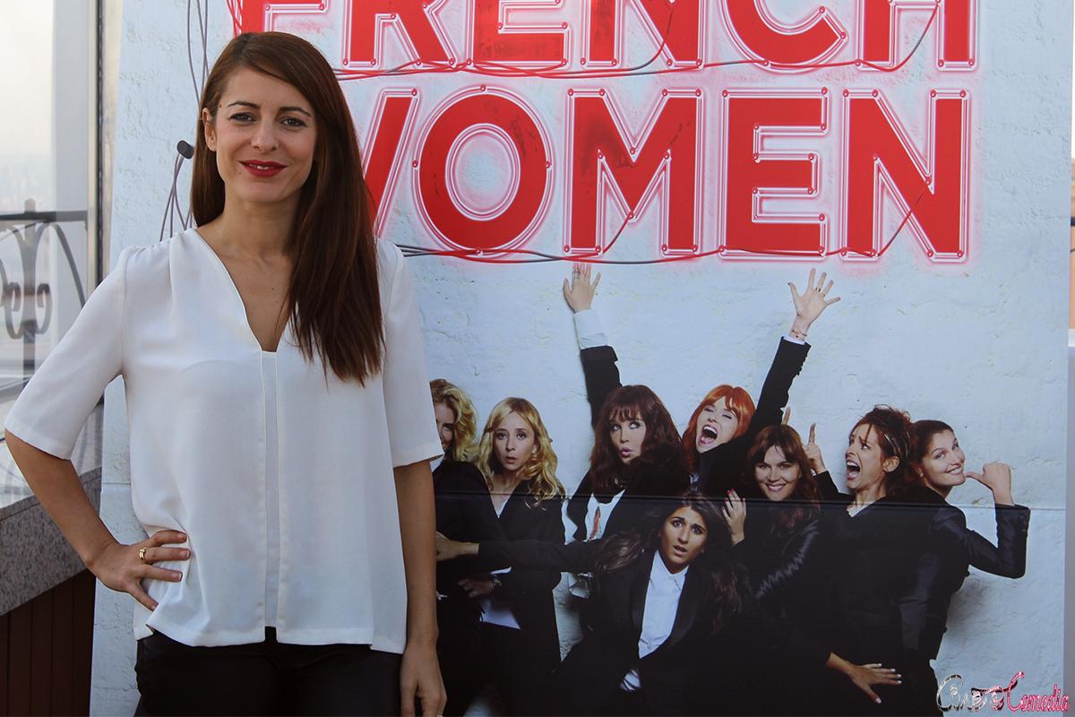 Audrey Dana en la presentación de French Women (4)