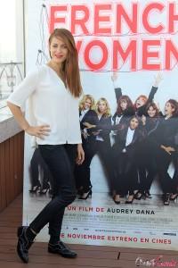 Audrey Dana en la presentación de French Women