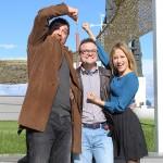 Hovik Keuchkerian, Ignacio Estaregui, y Marta Larralde en la presentación de Justi&Cia (4)