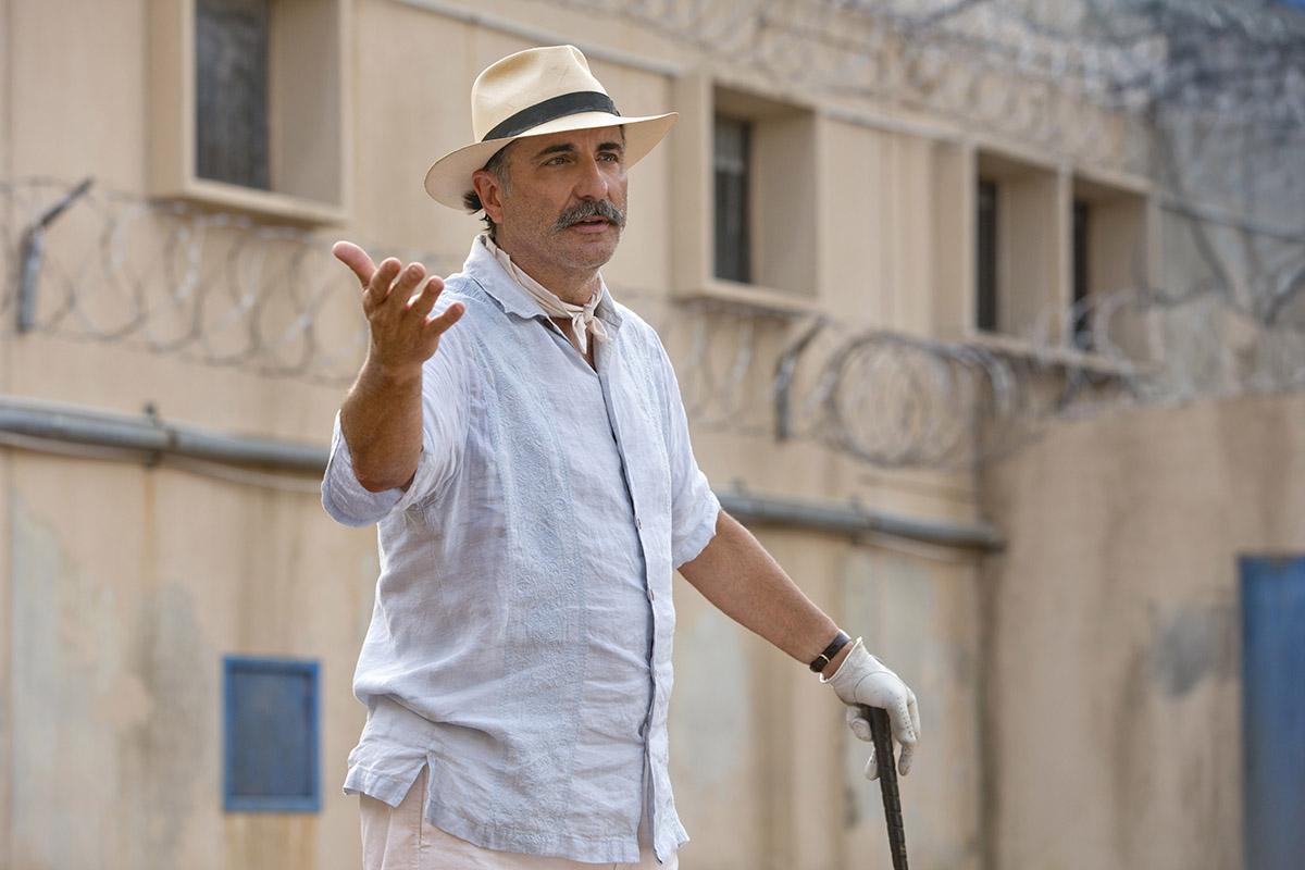 Andy Garcia en Matar al mensajero