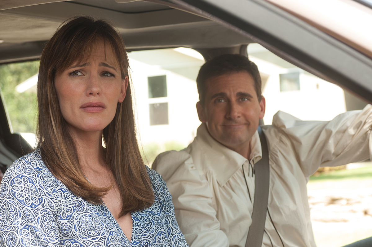 Jennifer Garner y Steve Carell en Alexander y el día terrible, horrible, espantoso, horroroso